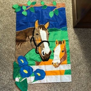 Large horse flag never used excellent condition